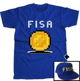 "PACK Tricou ""FISA"" + SAPCA [Albastra]"