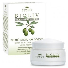 Crema antirid de noapte Bioliv Antiaging Cosmetic Plant