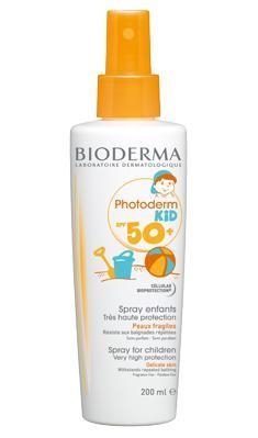 Spray protectie solara pentru copii Photoderm KID SPF 50, Bioderma