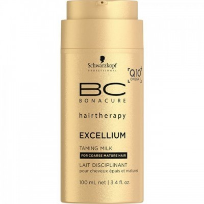 Tratament Leave-in Schwarzkopf Professional BC Bonacure Excellium Taming Milk