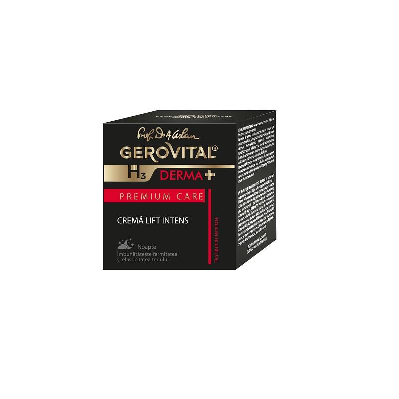 Crema lift intens Gerovital H3 Derma+ Premium Care