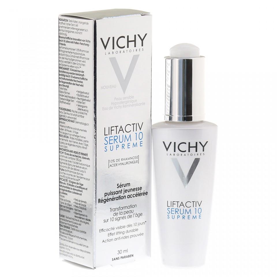 Ser cu actiune de reintinerire Vichy Liftactiv Serum 10 Supreme
