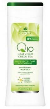 lapte corp revitalizant q10 + ceai verde cosmetic plant
