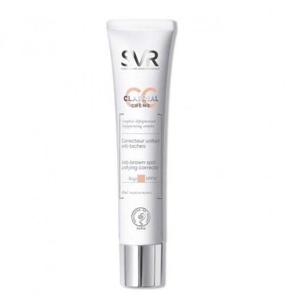 Corector anti-pete pigmentare Clairial CC SPF50 SVR Laboratoires
