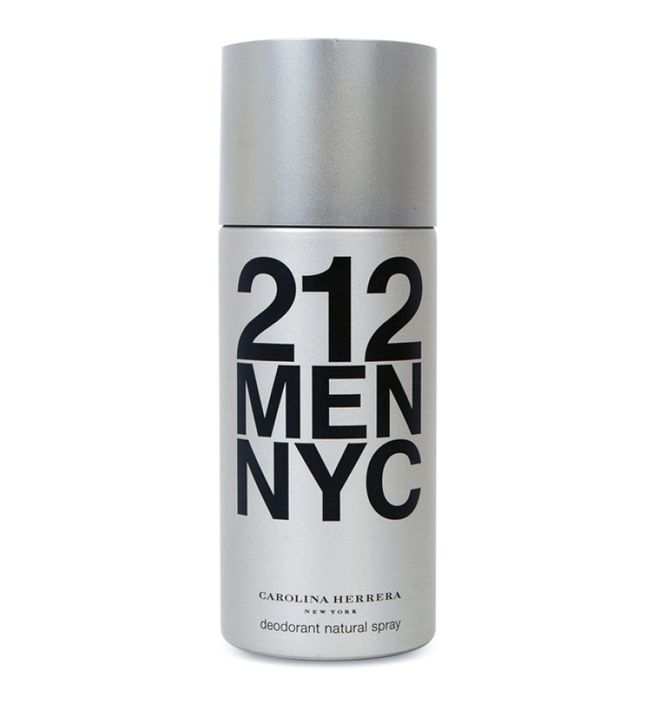Deo Spray Carolina Herrera 212 Men