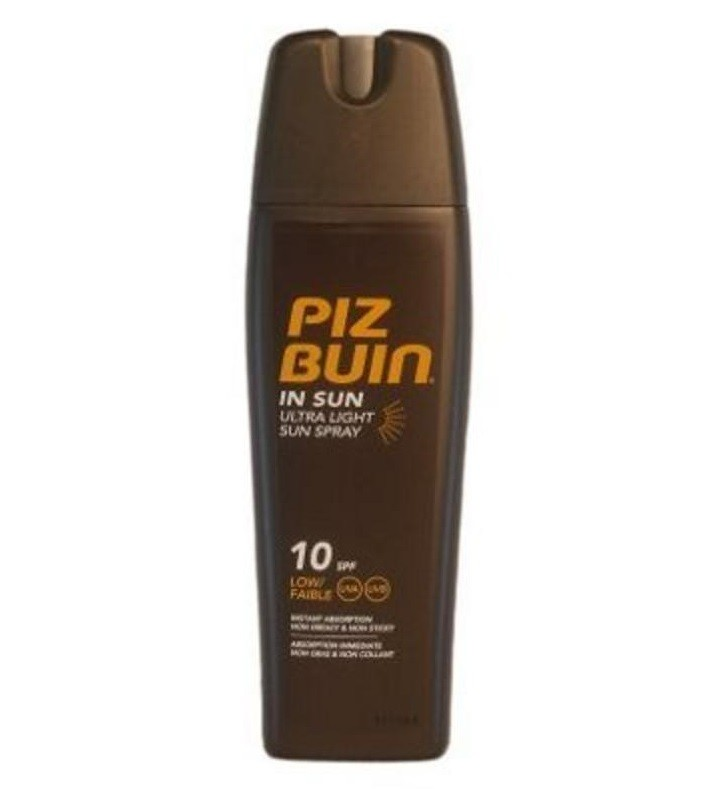 Lotiune spray hidratanta pentru plaja SPF 10 Piz Buin