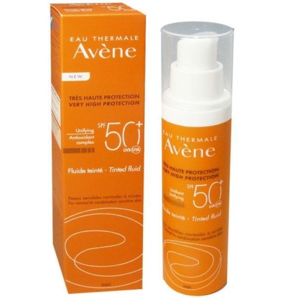 Fluid nuantator SPF 50+ Avene Pierre Fabre