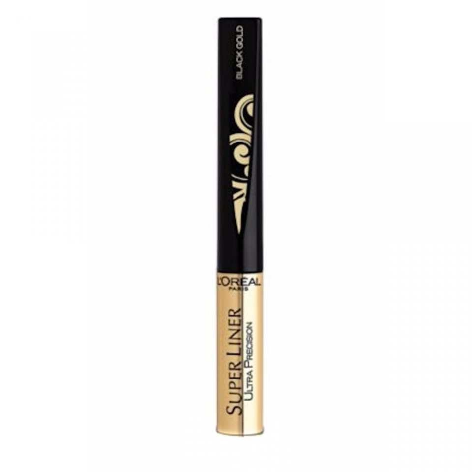 Tus Pleoape L'Oreal Paris Super Liner Ultra Precision Black Gold