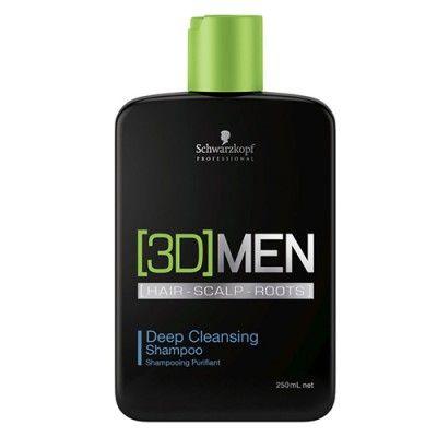 Sampon Schwarzkopf [3D]MEN Deep Cleansing