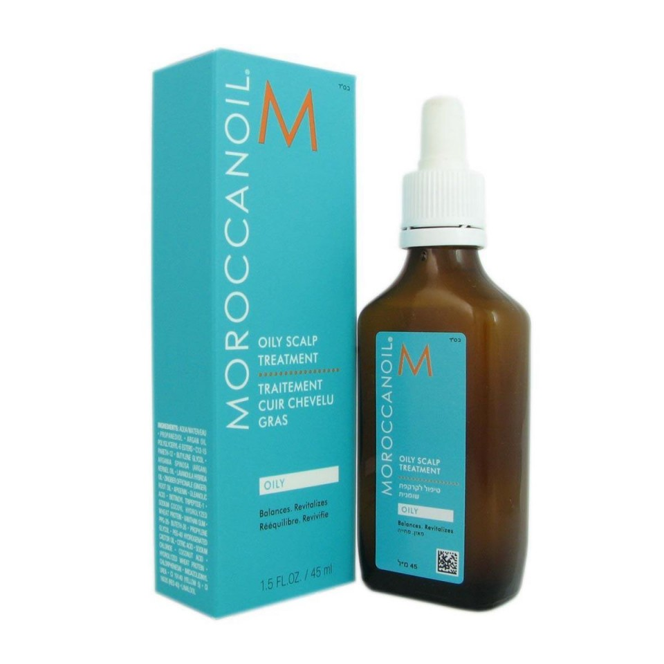 Tratament pentru scalp gras Moroccanoil