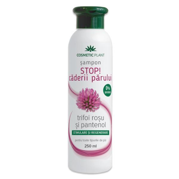 Sampon Stop! caderii parului cu trifoi rosu si pantenol Cosmetic Plant