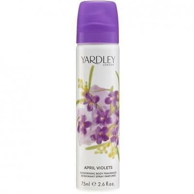 Deodorant Spray Yardley April Violets