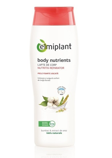 Body Nutrients Lapte Corp Nutritiv Elmiplant