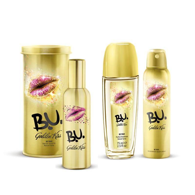 Set Cadou B.U.Golden Kiss
