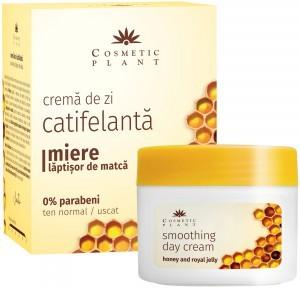 Crema de zi catifelanta cu miere si laptisor de matca Cosmetic Plant
