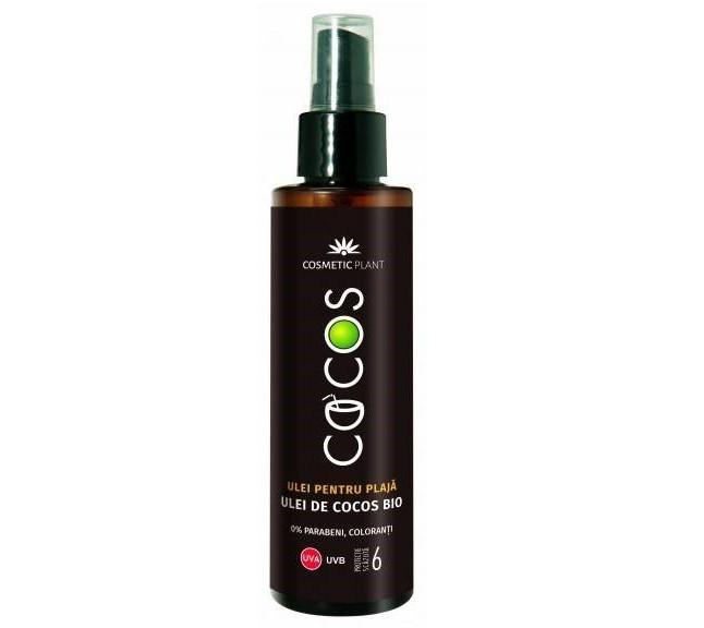 Emulsie pentru plaja SPF 6 cu ulei de cocos Bio Cosmetic Plant