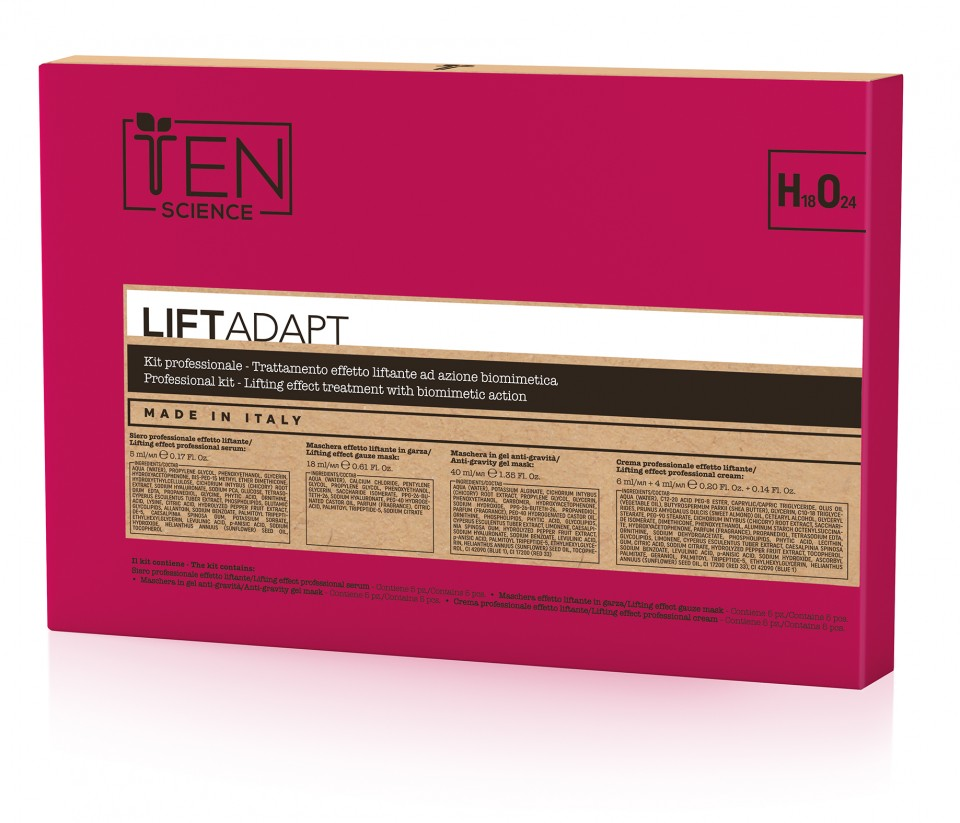 TeN Science Lift Adapt Prof Kit 5 Tratamente de lifting