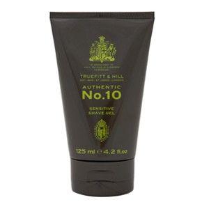 Truefitt&Hill Authentic No. 10 - Gel de barbierit pentru piele sensibila