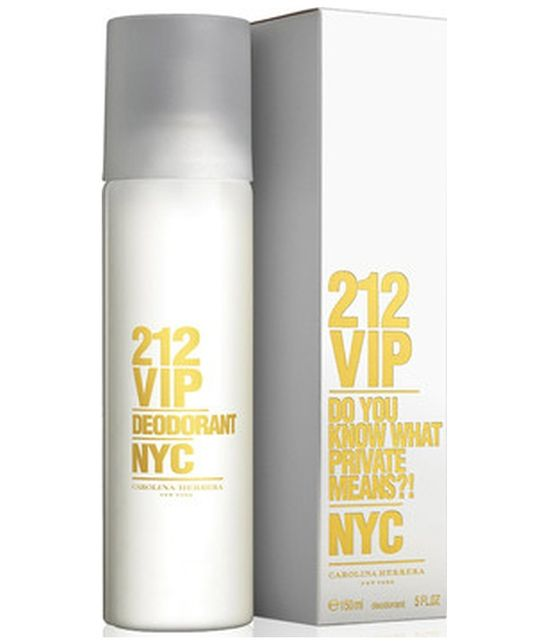 Deo Spray Carolina Herrera 212 Vip