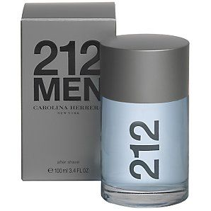After Shave Carolina Herrera 212 Men