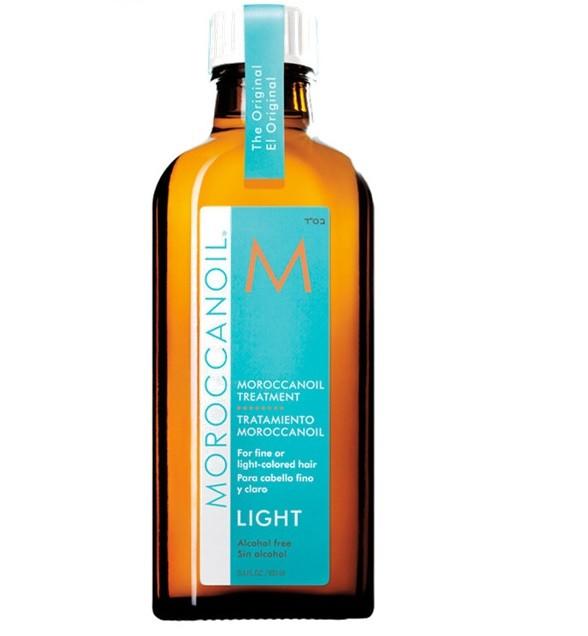 Tratament pentru par fin si deschis la culoare Light Moroccanoil