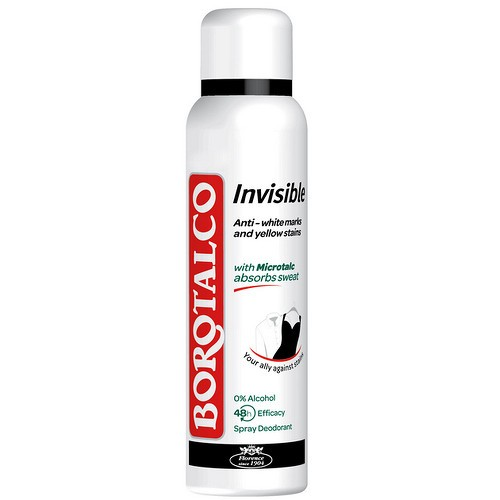 Deodorant Spray Borotalco Invisible Dry