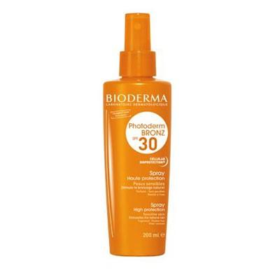 Spray protectie solara Photoderm Bronz SPF 30, Bioderma