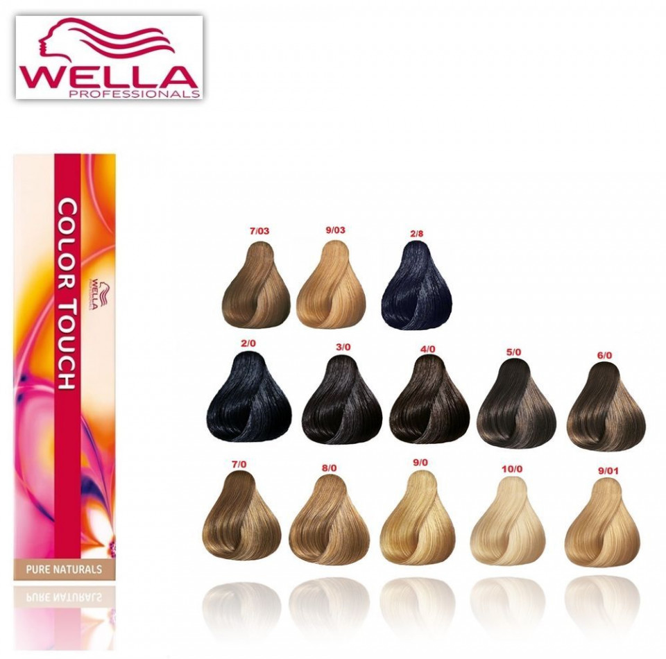 wella professionals color touch