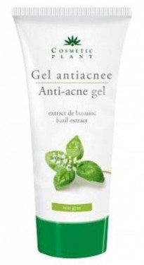 Gel antiacnee cu extract de busuioc Cosmetic Plant
