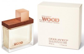 Poze Dsquared She Wood Velvet Forest