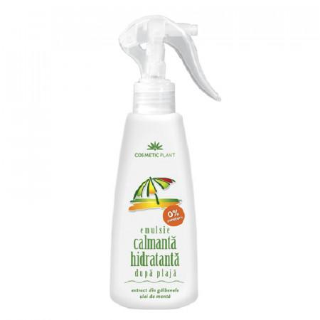 Emulsie dupa plaja cu ulei de menta si extract de galbenele Cosmetic Plant