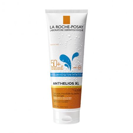 Gel-fluid de protecție solară cu aplicare pe pielea umedă sau uscată SPF 50+ Anthelios XL Wet Skin La Roche-Posay