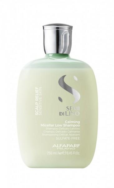 Sampon pentru scalp sensibil Alfaparf Semi di Lino Relief Calming Micellar