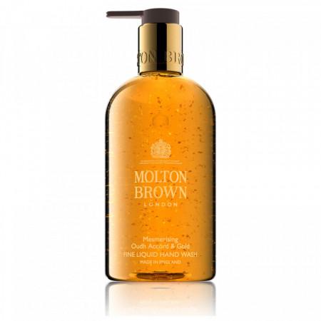 Sapun lichid Molton Brown, Oudh Accord & Gold Fine