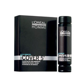 Poze Gel colorant L'Oréal Professionnel Homme Cover 4 Medium Brown