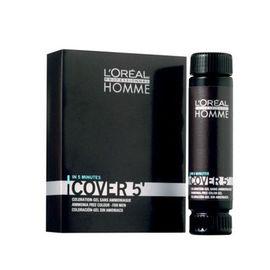 Gel colorant L'Oréal Professionnel Homme Cover 4 Medium Brown
