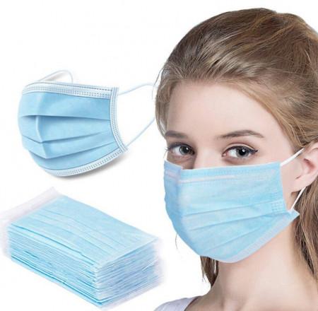 Masca medicala, chirurgicala, pentru protectie faciala 3 straturi