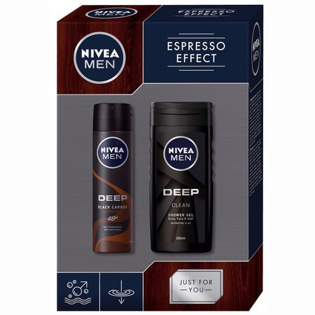 Set cadou Nivea Men Espresso Effect