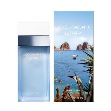 D&G Light Blue Love in Capri