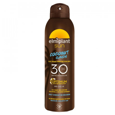 Ulei spray protector Coconut Oasis Optimum SPF 30 Elmiplant
