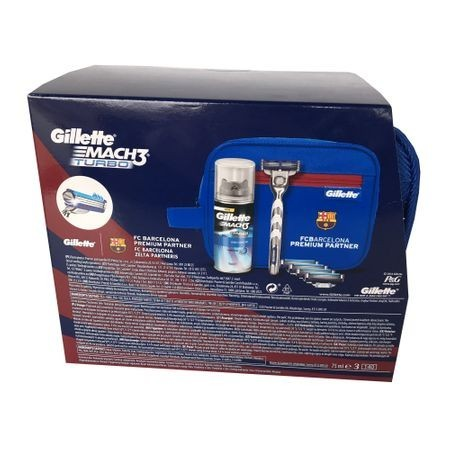 Set Cadou Gillette Mach3 Turbo