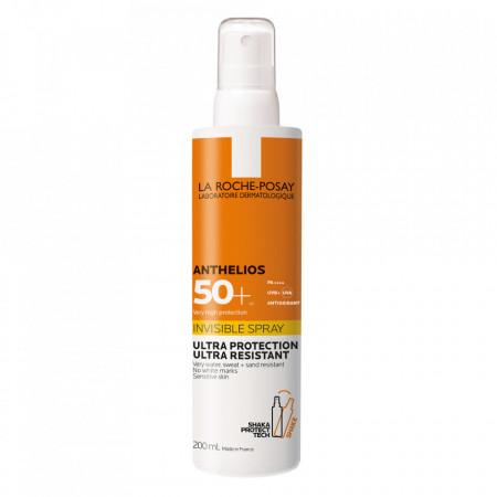 Spray invizibil SPF 50+ Anthelios La Roche-Posay