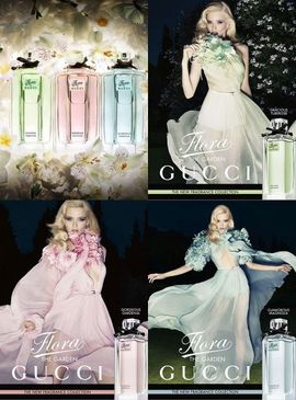 Poze Flora by Gucci Gorgeous Gardenia