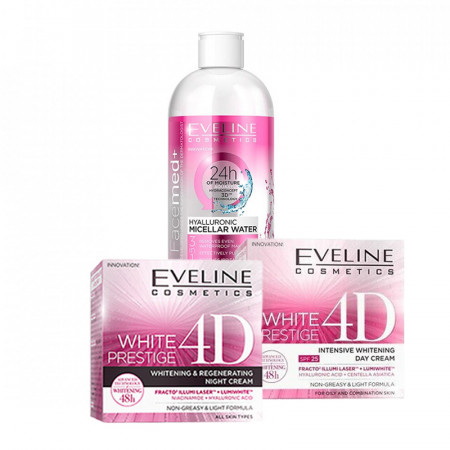 Pachet Eveline White Prestige 4D