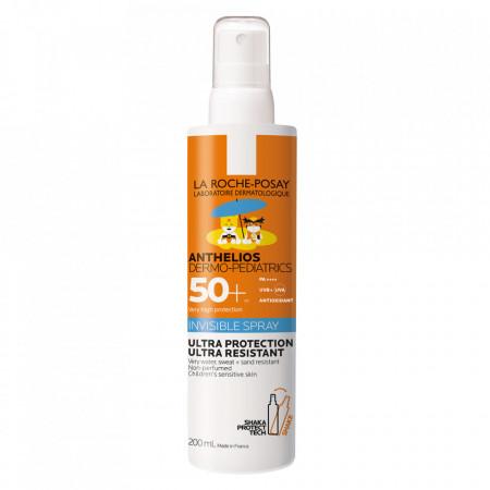 Spray invizibil pentru copii SPF 50+ Anthelios Dermo Pediatrics La Roche-Posay
