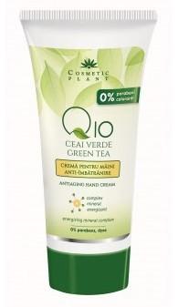 Crema anti-imbatranire pentru maini cu Q10 si ceai verde Cosmetic Plant