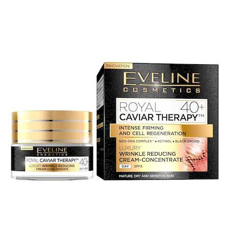 Crema anti-rid Eveline Cosmetics Royal Caviar Therapy 40+