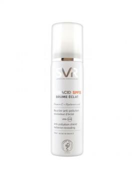 Spray fluid cu vitamina C si acid hialuronic Hydracid SPF15 SVR Laboratoires