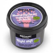 Masca reparatoare naturala de noapte cu Luminita Noptii si Trandafir de Damasc, Organic Kitchen