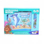 Carte De Colorat - Water Magic - Animale